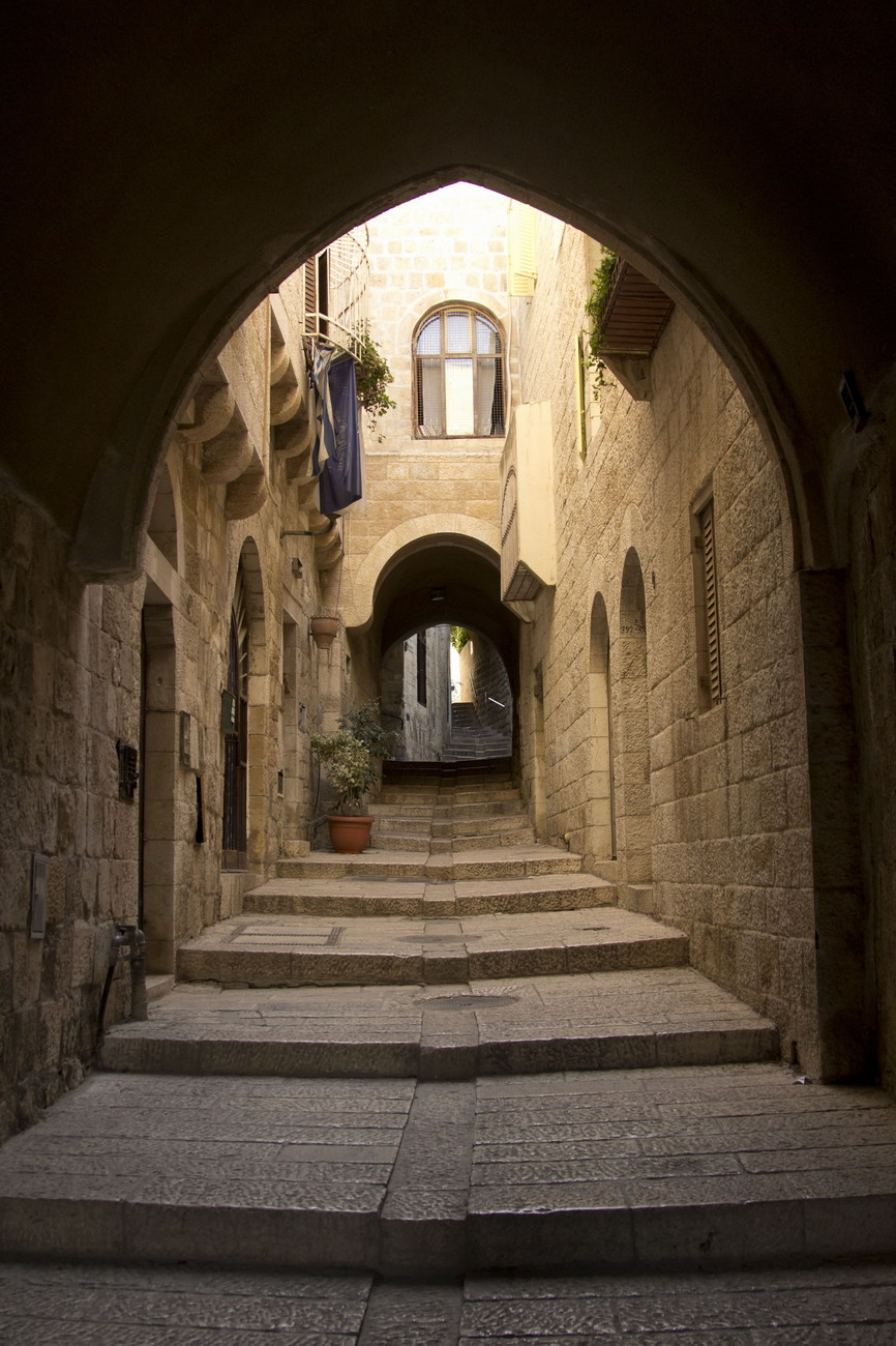 שערים וסמטאות בחומת העיר ירושלים
